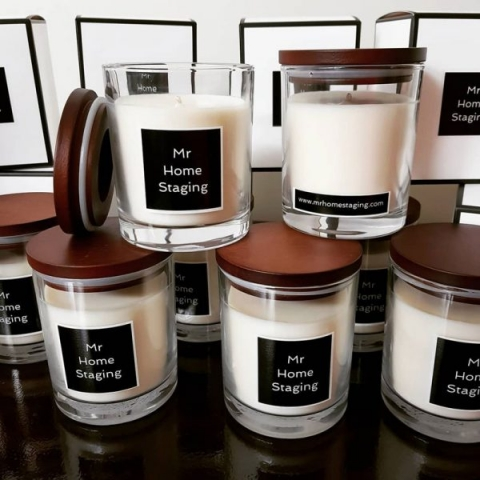custom candle presents