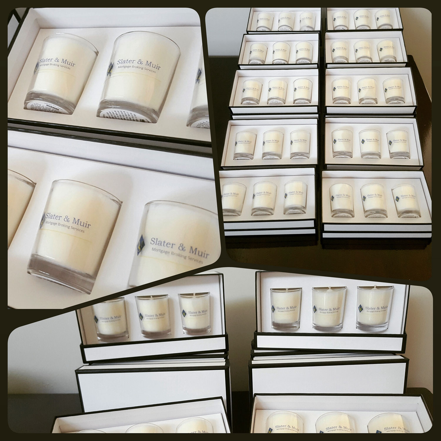 custom corporate candles