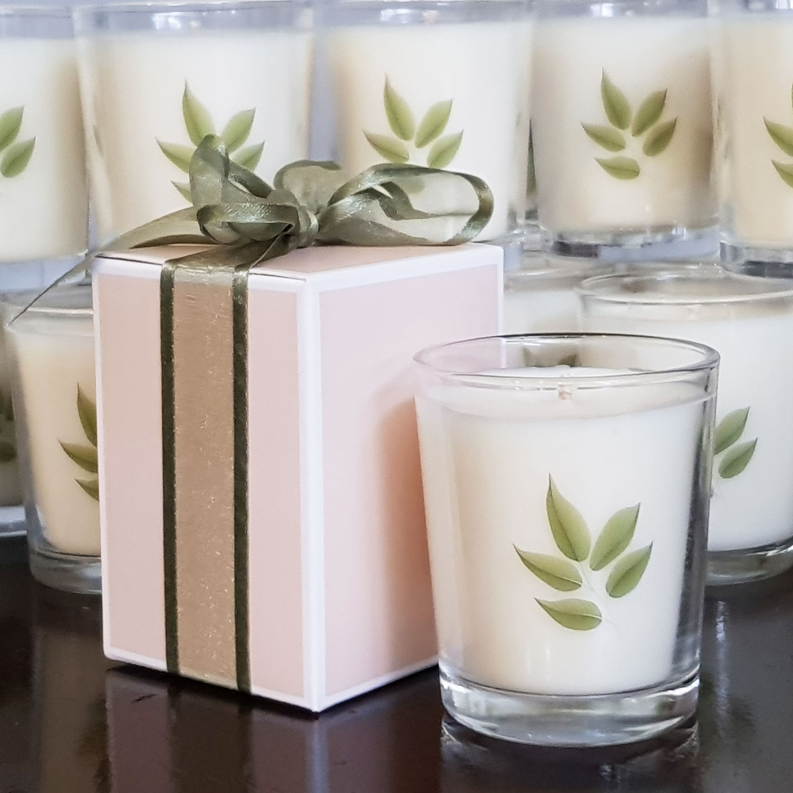 custom design candles